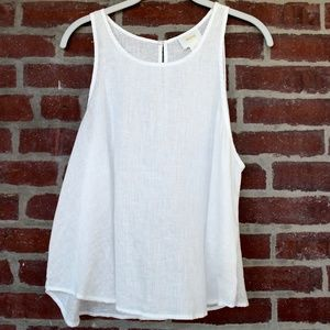 Linen Tank | Anthro | Loose Fit